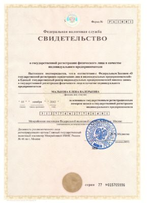 Малькова Елена ИП